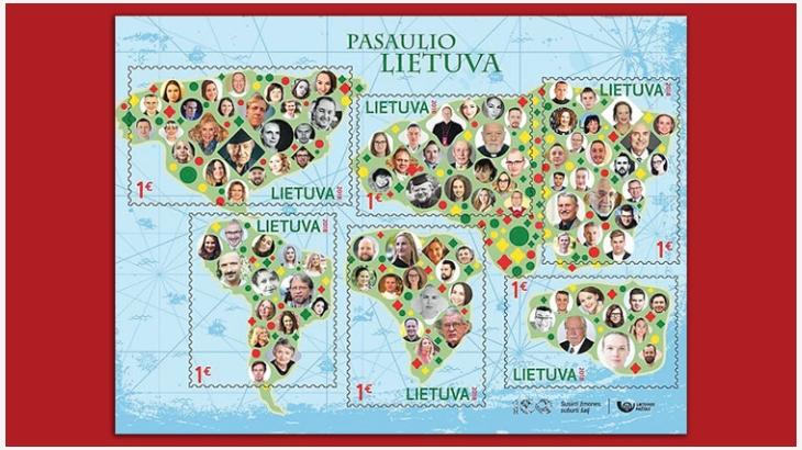 立陶宛邮票
