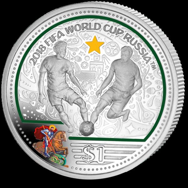 2018世界杯纪念币