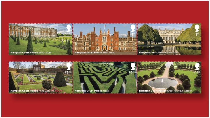 汉普顿宫邮票