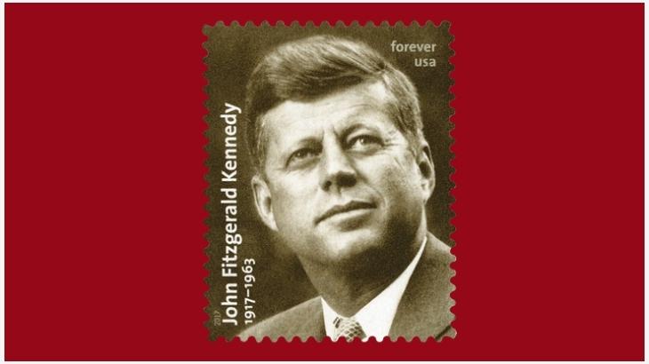 《肯尼迪诞生百年》邮票