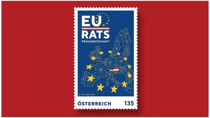 奥地利邮票