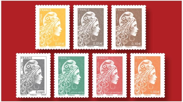 法国邮政普通邮票