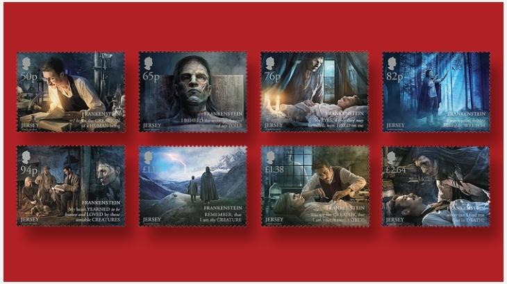 《科学怪人》邮票
