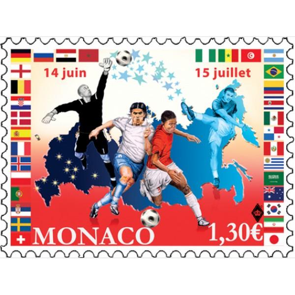 2018世界杯邮票