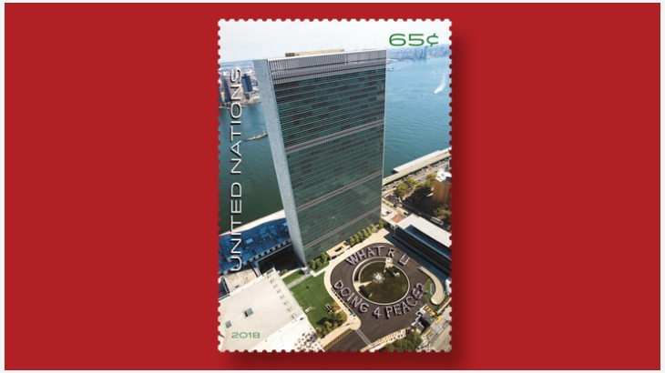 联合国邮票