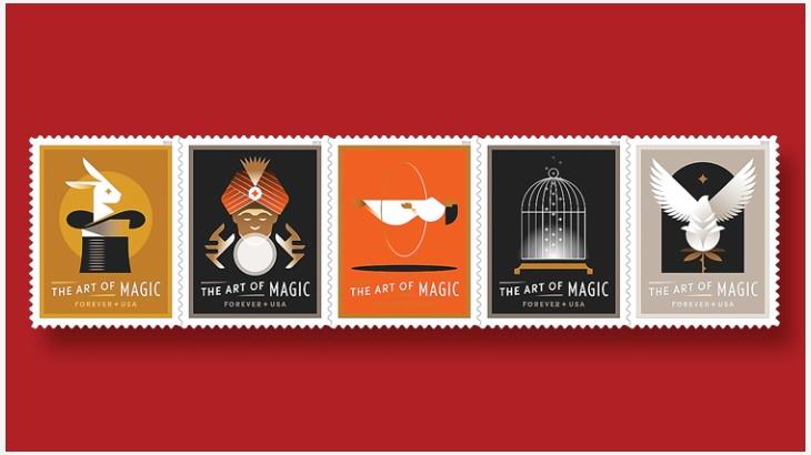 经典魔术邮票