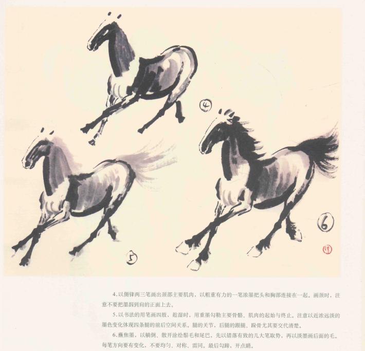 《奔马》邮票