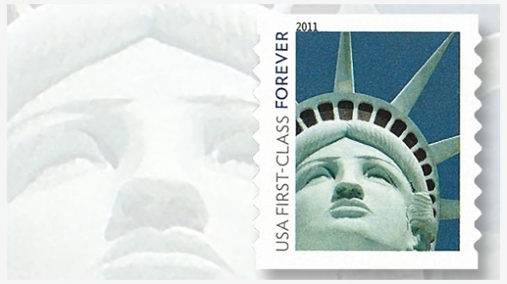 自由女神像邮票